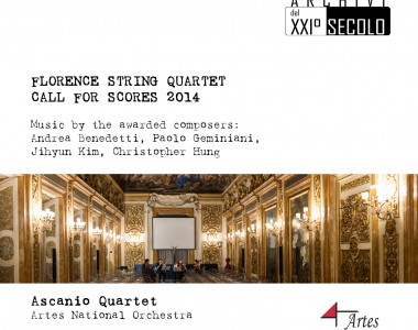 CD Florence String Quartet Call for Scores 2014 – Music by the awarded composers