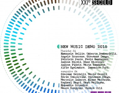 Cd New Music Demo 2015 – Archivi del XXI°Secolo